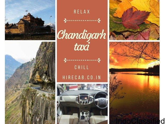 HireCab Taxi Service in Chandigarh