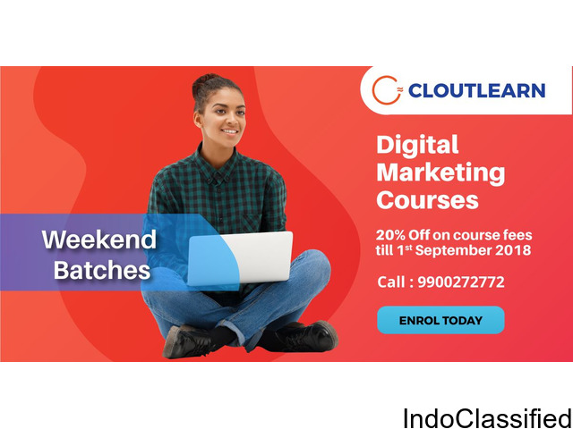 20% Offf On Digital Marketing Courses in Bangalore