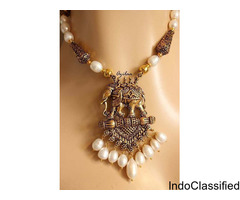 Looking for a perfect necklace to gift her this Teej?