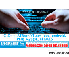 PHP MySql Training in puducherry