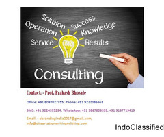 Prof. Prakash Bhosale Provides Entrepreneurs Consulting Services in Surat