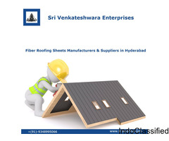 Fiber Roofing Sheets Manufacturers & Suppliers in Hyderabad