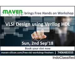 Register now for FREE hands -on session on VLSI Design using verilog HDL.