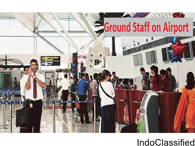 Airport Ground Staff Jobs for both Freshers & Experienced