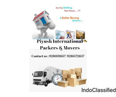 Best Packers and Movers services in Chandigarh |Piyush International Packers Movers