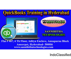 QuickBooks Online Trianing in Hyderabad