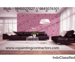 VS Enterprises - Texture Wall Painting services in Bangalore