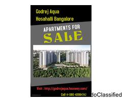 Godrej Aqua Apartment Hosahalli Bangalore