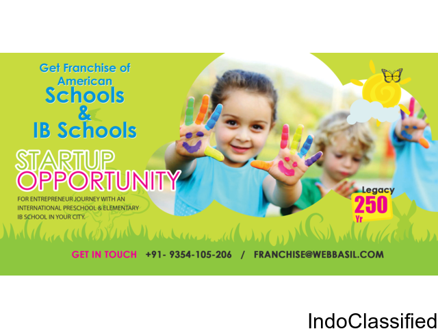 Looking for Pre School Franchise | Preschool Franchise in India