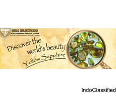 Why is Yellow Sapphire important for people life?