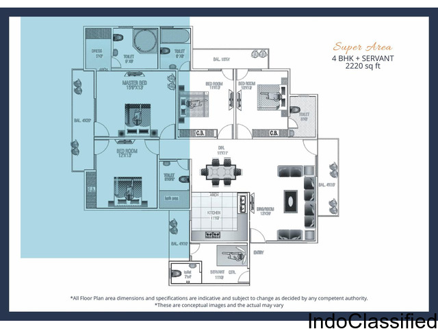 Revanta Aan Residency L Zone Dwarka Delhi-9266055508