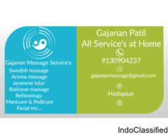 Body massage Services at your house