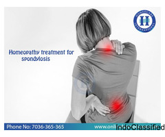 Don't Neglect Spondylitis Cure it with Homeopathy