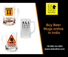 Buy Beer Mugs online in India at Low Price - ekdodhai.com