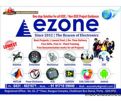 Robotics /Project Consultants For MCA In Ezone