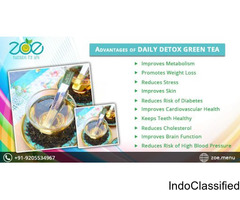 Buy Best Tulsi Green Tea in India Online, Organic Green Tea  by ZOE
