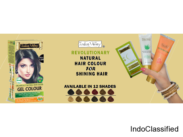 Best organic hair color at low rate in India