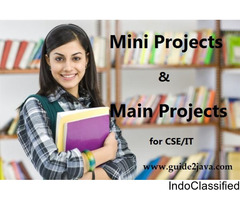 Best Mini and Major projects for CSE/IT