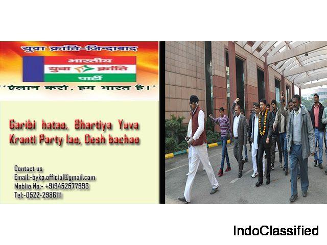 Bharatiya Yuva Kranti party- an initiative to change the system