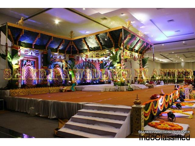 Wedding Planners and Wedding mandap decorators in Hyderabad
