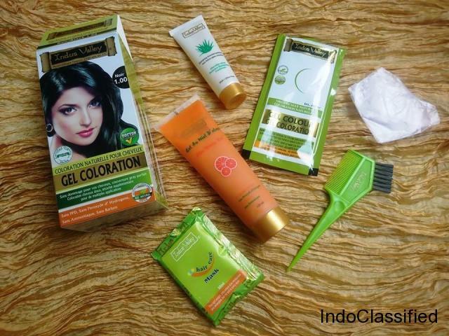 Best 100% Organic Hair Colour Dye & Certified Cosmetics