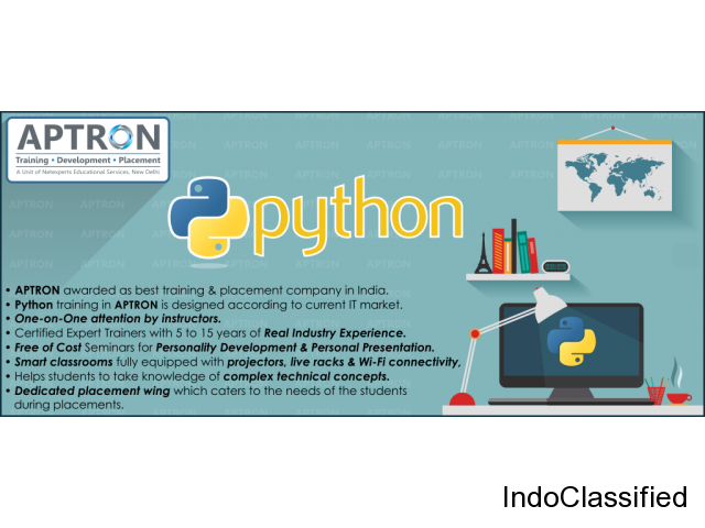 Python Course in Noida by Certified Experts