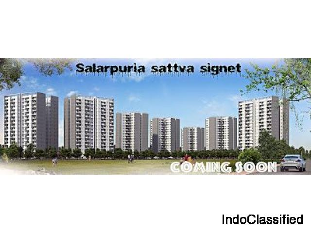 Book own home by Salarpuria Sattva Signet Bangalore