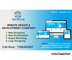 Website Design, Development, and Digital Marketing Company in Hyderabad | BS Digitech