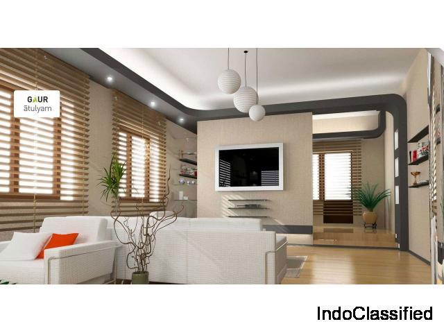 Buy Gaur Atulyam 2 BHK Flat @ Rs.2995/ sq.ft. at Greater Noida : 9250-377-000