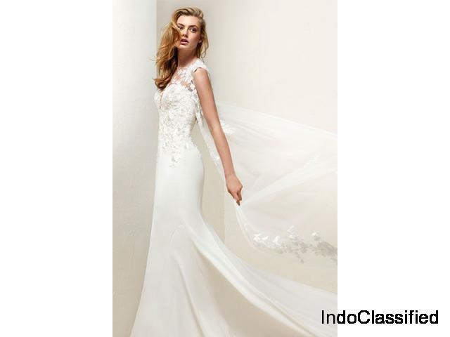 Criss Cross Back Wedding Dress | ByCouturier