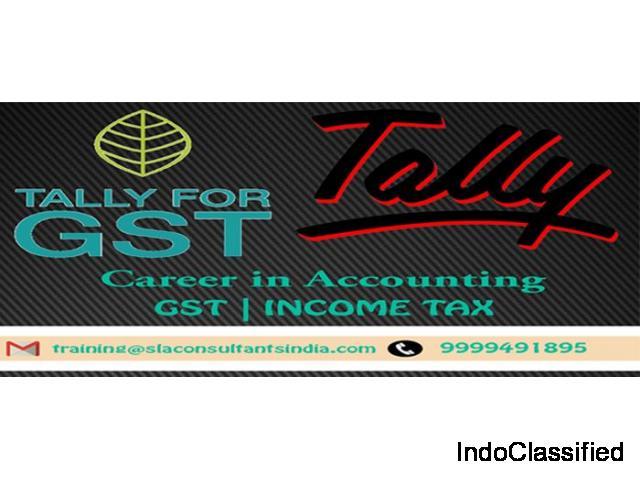 Join Tally Certification Course Provider Institute in Delhi : SLA Consultants India