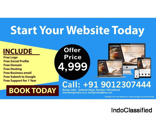 Mobile Responsive website in just some amount- sofftware company in dehradun