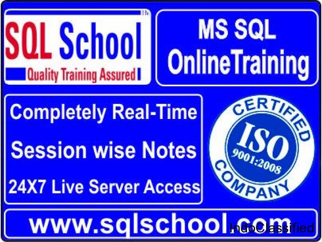 SQL Server Practical and Real Time Online Training @ SQL School