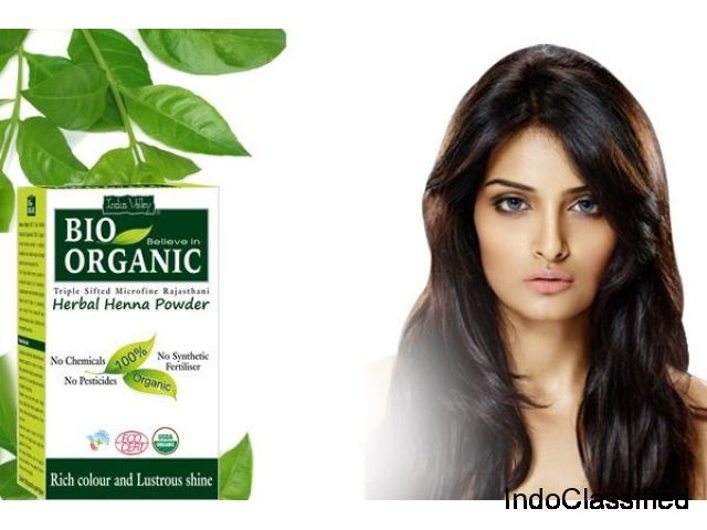 Getting natural hair colour with the help of ayurvedic hair colour