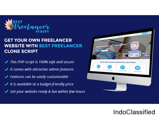 Affordable Open Source Freelancer Clone Script