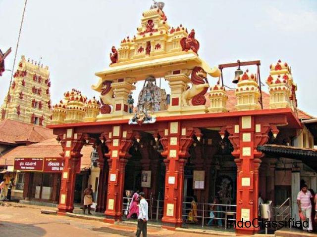 7 Days Trip from Bangalore Mysore – Kukke – Udipi – Kollur – Murudeshwar – Gokarna