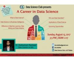 Data Analysis Training Program in Mysore - 2018-2019