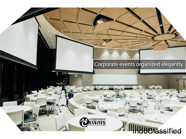 Best Corporate Event Planners & Organizers in Hyderabad | Corporate event management companies