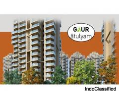Buy World Class 2 BHK Flat at Gaur Atulyam Greater Noida @ Rs. 2995/ sq.ft : 9250-377-000