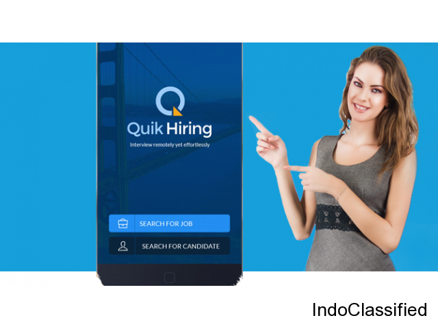 New Job Here, Apply Using Recruitment App