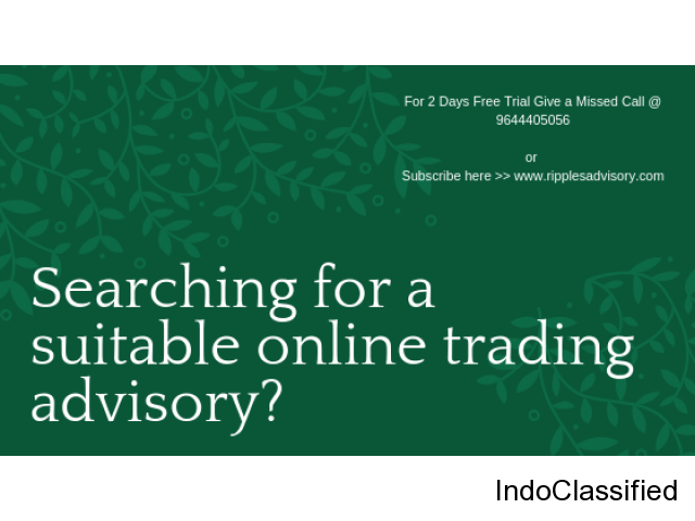 Searching for a suitable online trading advisory?