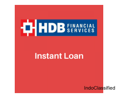 Get instant loan today by HDB Financial Services Limited