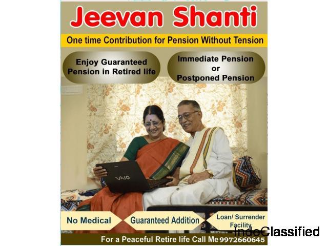 LIC's Jeevan Shanti 9972660645 Guaranteed Annuity Single Premium Plan