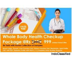 Book Full Body Health Checkup Package at Just Rs. 999