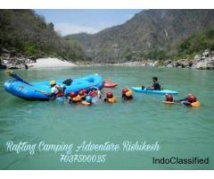 rishikesh best camping and rafting adventures