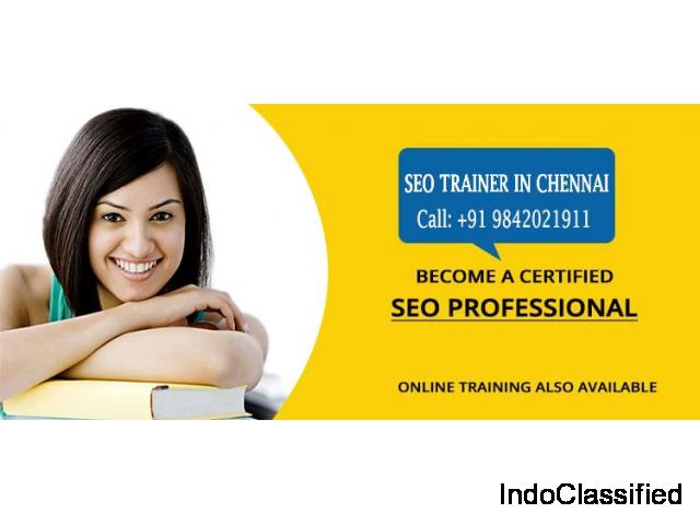 Top SEO Training Centers in Chennai - seotrainerchennai.in
