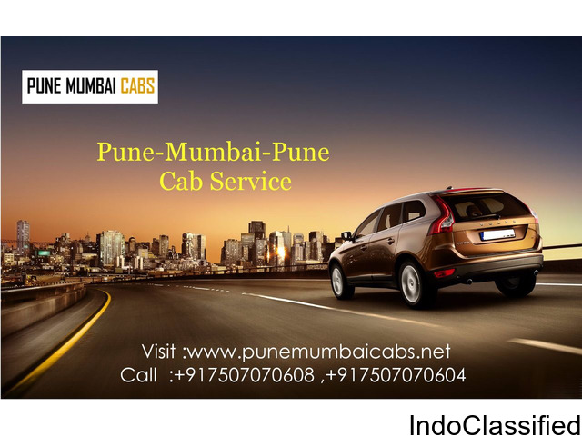 Pune to Mumbai Airport Cab