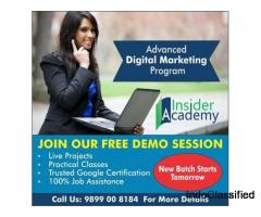 digital marketing training institutes in Noida