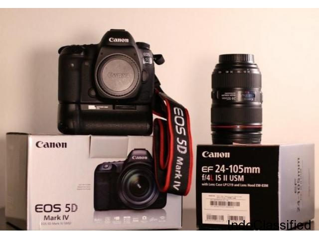 Canon 5D Mark IV + 24-105mm f/4L II Lens