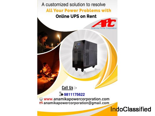Online UPS on Hire